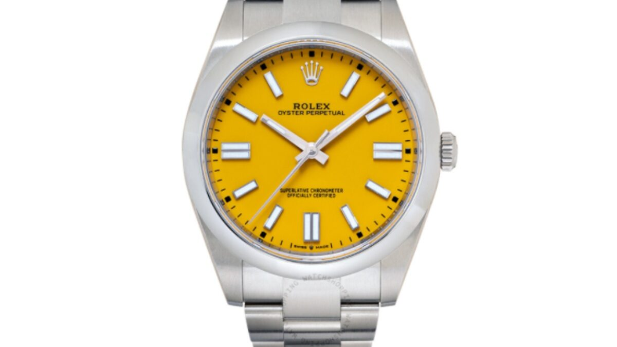 Magnificent Masterpieces From the Oyster Perpetual Of Rolex Watches for Men